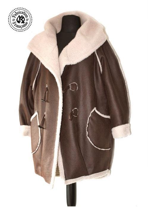 Manteau long femme kookai