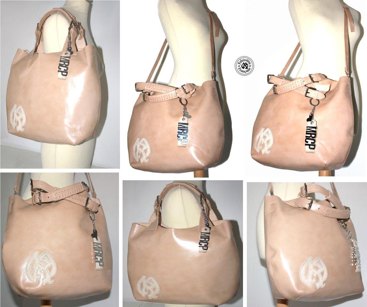 grand en sac lisse besace cuir épais luxe végétal modulable cabas en OdOwxXZrq